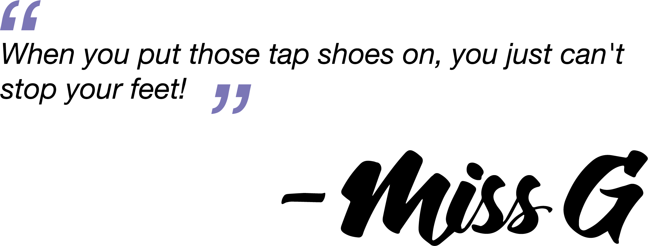 Tap-quote